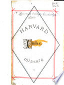 The Harvard Index for