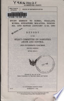 Study Mission To Korea Thailand Burma Singapore Malaysia Indonesia And Hawaii January 14 25 1988