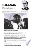 The H.G. Wells Newsletter