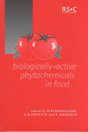 Biologically active Phytochemicals in Food Book