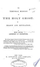 The Temporal Mission of the Holy Ghost