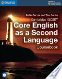 Books - Cambridge Igcse� Core English As A Second Language Coursebook With Audio Cd | ISBN 9781107515666