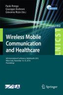 Pdf Wireless Mobile Communication and Healthcare Telecharger