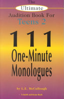 The Ultimate Audition Book for Teens 2 Book