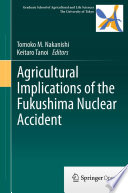 Agricultural Implications of the Fukushima Nuclear Accident Book