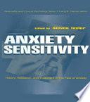 Anxiety Sensitivity