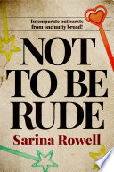 Not to be Rude Book