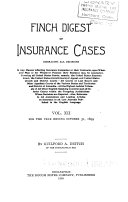 General Index to the Insurance Digest