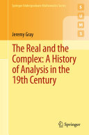 Pdf The Real and the Complex: A History of Analysis in the 19th Century Telecharger