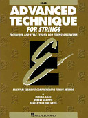 Essential Elements Advanced Technique for Strings
