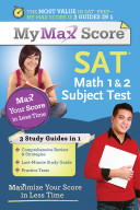 My Max Score SAT Math 1   2 Subject Test