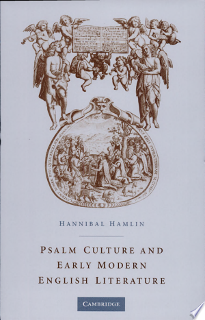 Download Psalm Culture and Early Modern English Literature Free Books - Dlebooks.net