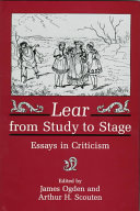 Lear from Study to Stage