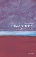 Romanticism  A Very Short Introduction