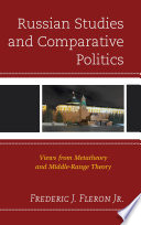 Russian Studies And Comparative Politics