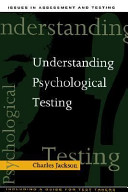 Understanding Psychological Testing Book