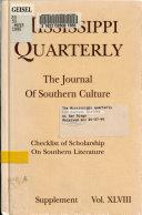 Mississippi Quarterly