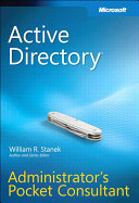 Active Directory Administrator s Pocket Consultant
