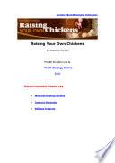 Raiseyourownchickens Content Pdf
