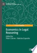 Economics in Legal Reasoning