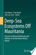 Deep Sea Ecosystems Off Mauritania