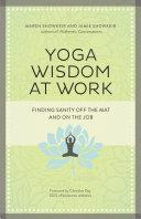 Yoga Wisdom at Work Pdf/ePub eBook