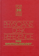 2000 Physicians' Desk Reference for Ophthalmology