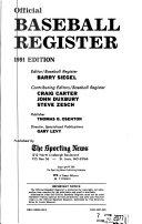 Official Baseball Register