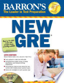 Barron's New GRE with CD-ROM