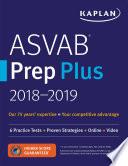 ASVAB Prep Plus 2018 2019 Book