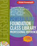PowerBuilder Foundation Class Library Professional Reference