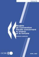 Pdf Modèle de convention fiscale concernant le revenu et la fortune : Version abrégée 2000 Telecharger