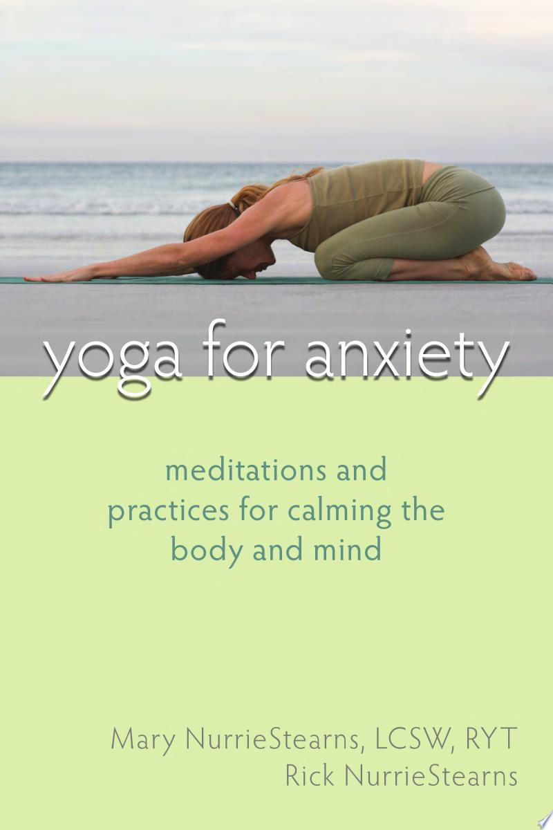 Yoga for Anxiety banner backdrop