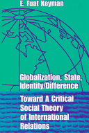 Globalization State Identity Difference