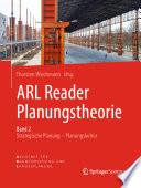 ARL Reader Planungstheorie Band 2