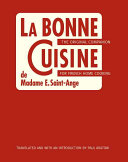 La Bonne Cuisine de Madame E. Saint-Ange