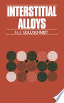 Interstitial Alloys Book
