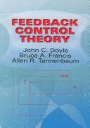 Feedback Control Theory Pdf/ePub eBook