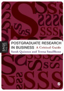 Postgraduate Research in Business