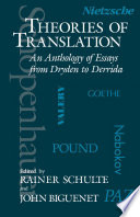 Theories of Translation