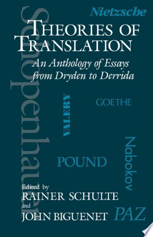 Download Theories of Translation Free Books - Dlebooks.net