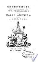 Gedenkzuil Ter Gelegenheid Der Vry Verklaaring Van Noord America