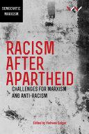 Racism After Apartheid Pdf/ePub eBook
