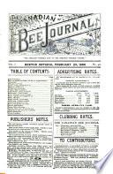 Canadian Bee Journal