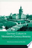 German Culture In Nineteenth Century America