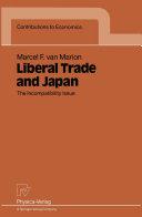 Pdf Liberal Trade and Japan Telecharger