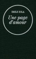 Une page d'amour [Pdf/ePub] eBook
