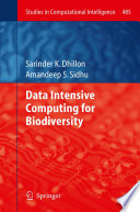 Data Intensive Computing for Biodiversity