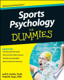 Sports Psychology For Dummies Pdf/ePub eBook