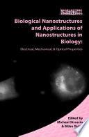 Biological Nanostructures And Applications Of Nanostructures In Biology Book PDF